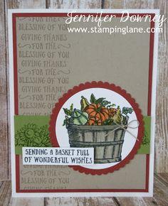 Stamping Lane: Creation Station Blog Hop - Basket of Wishes