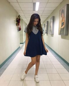 Thanks Melanie Ong ideas street styles phili Filipina Actress, Filipina Beauty, 8th Grade Outfits, Simple Style, Style Me, Christmas Party Outfits, Uzzlang Girl, Outfit Goals, What To Wear
