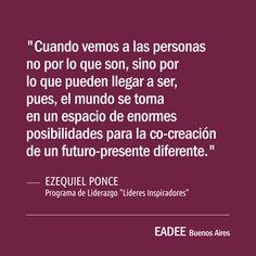 #liderazgo #coaching #ezequielponce #eadee