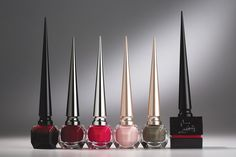 Christian Louboutin Enters the Beauty Arena. [Photo by George Chinsee]