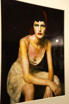 """Stella"" Paolo Roversi. Exposición ""Vogue like a painting"" Museo Thyssen Bornemisza  #Fotografía #Moda #Madrid #Arterecord 2015 https://twitter.com/arterecord"