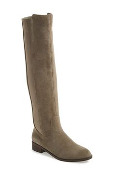 Very Volatile 'Timber' Suede Knee High Boot (Women) available at #Nordstrom