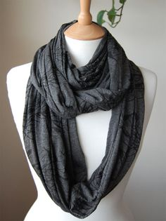 I love circle scarves. Just bought this one!