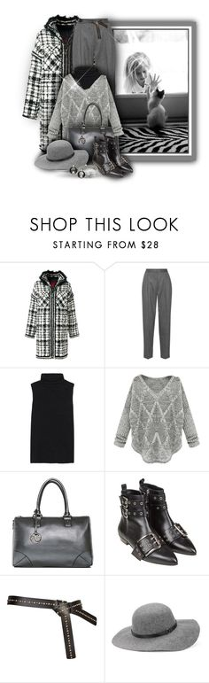 """""""Kitty in the Window w. Little Girl"""" by franceseattle ❤ liked on Polyvore featuring Trilogy, Moncler Gamme Rouge, STELLA McCARTNEY, The Row, RED Valentino and Whistles"""