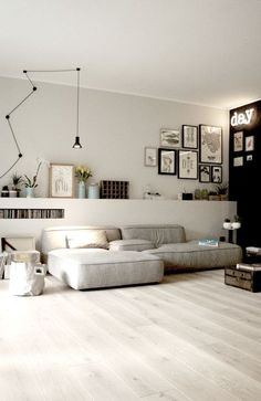Minimalist Living Room Ideas - Locate your favored Minimal living-room pictures right here. Check out photos of motivating Minimalist living-room design ideas to develop your excellent house. Living Room Interior, Home Interior, Home Living Room, Interior Architecture, Living Room Designs, Living Room Decor, Living Spaces, Apartment Living, Modern Interior
