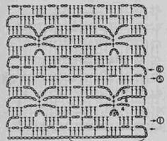 вязание крючком узоры со схемами Crochet Diagram, Crochet Motif, Crochet Flowers, Crochet Stitches, Crochet Patterns, Crochet Shoes, Knitting, Shawls, Knits