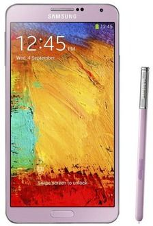 Samsung - Galaxy Note 3 Mobile Phone (Unlocked) - Pink