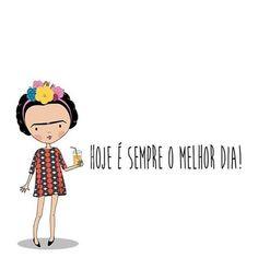 Saiba fazer... deixe ele acontecer e curta, seja ele quinta-feira, sexta, s. ..  Frida Kahlo (Fridoka) look @totemnet  #fridakahlo #fridoka #frida #kahlo #casaazul #vivalafrida#arte #painting #art #illustration #illustrator #the100dayproject #totemlovers #mngds1