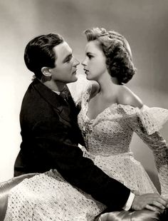 Gene Kelly & Judy Garland // For Me and My Gal (1942) Two of my most favorite actors...