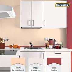 #CeresitaCL #PinturasCeresita #Color #Cocina #Pintura #Decoración #Tendencia #Actual #Hogar #Home #Deco #Estilo #Muebles *Códigos de color sólo para uso referencial. Los colores podrían lucir diferentes, según calibrado de su monitor.