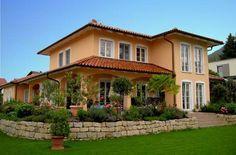 haas fertighaus top line 190 mediterranes toskana haus 2. Black Bedroom Furniture Sets. Home Design Ideas