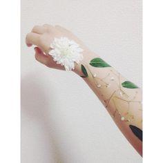 国内ブレイクも間近?この夏は押し花タトゥーで夏の視線を独り占め♡ -page3 | Jocee