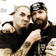 Phil Anselmo & Zakk Wylde.