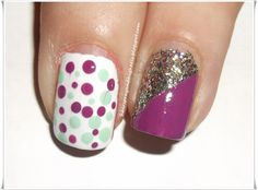 nails- Mani Monday via McNamara Knight and HighHeels Fancy Nails, Pretty Nails, Hair And Nails, My Nails, Diy Beauty Nails, Shoe Nails, Nail Tips, Nail Ideas, Easy Nail Art