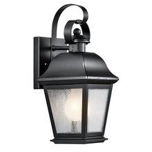 "View the Kichler 9707 Mount Vernon Collection 1 Light 13"" Outdoor Wall Light at LightingDirect.com."
