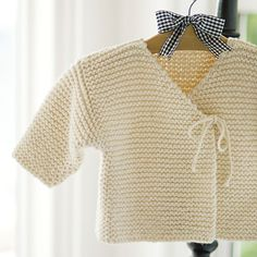 Easy Peasy Baby Jacket Pattern