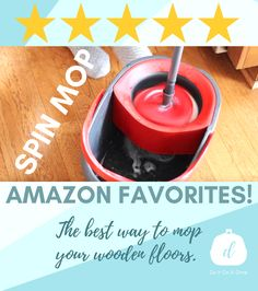 Spin Mop, A Dime, Wooden Flooring, Clean House, Cleaning Hacks, Spinning, Floors, Action, Good Things