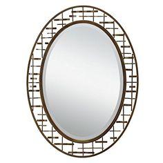 Kichler Lighting 78248 Loom 3775Inch Beveled Mirror Olde Bronze Metal Frame * You can find more details by visiting the image link.