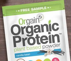 Get started here>> FREE Orgain Organic Protein Powder Sample!   Request your FREE Orgain Organic Protein Powder Sample for a limited ti...