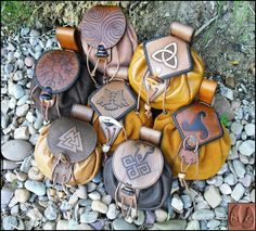Sold 7 Norse Possibles Pouches