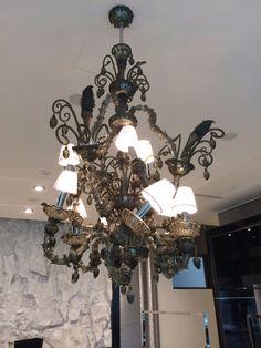 Murano, allure frankfurt, chandelier, art, interior design, fashion store