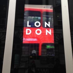 Fashion Capital of the world - London!