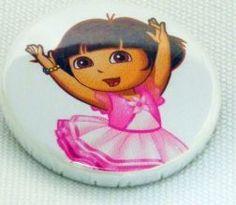 Boton decorativo Dora Bailarina - pct com 2