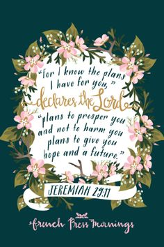 French Press Mornings - Jeremiah 29:11