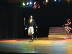 Argentina dance: boleadores