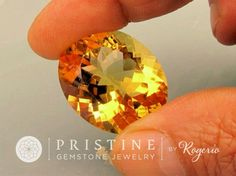 Citrine Oval Yellow Over 50 Carats  Gemstone by PristineGemstones