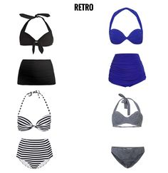 What style bathing suit do you like to wear? Check out some of Summer's Best Bikinis and find your perfect swimsuit! Here are our top retro bikini picks.