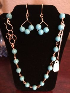 2 sets of handmade necklaces and earrings #bestofEtsy #etsyretwt