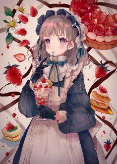 Manga Anime, Manga Art, Anime Artwork, Cool Artwork, Anime People, Beautiful Anime Girl, Anime Kawaii, Manga Pictures, Anime Characters