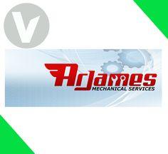 DESIGN: Arjames Mechanical Services Facebook Cover.