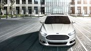 The 2013 Ford Fusion Titanium shown in White Platinum Tri-coat Metallic. 2013 Ford Fusion, Lakefront Homes, Gasoline Engine, Car Ford, Future Car, Hot Cars, Hot Wheels, Dream Cars, Automobile