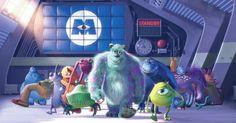 As animações mais aguardadas de 2012 - Monstros S.A. em 3D