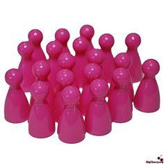 Farben einzeln bestellen - bei 8 und mehr Spielern. Die Kegel sind 3 mm kleiner.