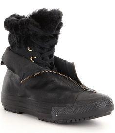 e2c0bd5d3b7 Converse Women´s Chuck Taylor® All Star® Shroud High Rise Synthetic Faux Fur