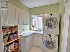 Laundry room - large, clean, practical.