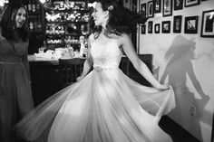 Gown available at Adore Bridal Boutique! www.adorebridalga.com @lovemarleyoffic Real Bride in Penelope wedding dress.