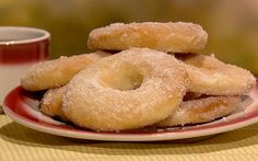 the chew | Recipe  | Fabio Viviani's Homemade Doughnuts