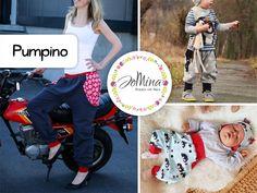 "Freebook - ""Pumpino"" - Jo Mina - Lilly is Love Sewing Patterns For Kids, Sewing Projects For Kids, Sewing For Kids, Clothing Patterns, Fabric Patterns, Sewing Clothes, Diy Clothes, Purse Storage, Fabric Purses"