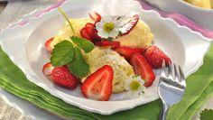 moučníky, jahodové koláče, jahody, recepty z jahod