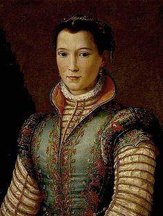 Retrato manierista del renacimiento por Allori.