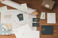 Peck and Company Graphic Design Inspiration, Restaurant Inspiration