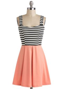 Feeling Grapefruit Dress, #ModCloth