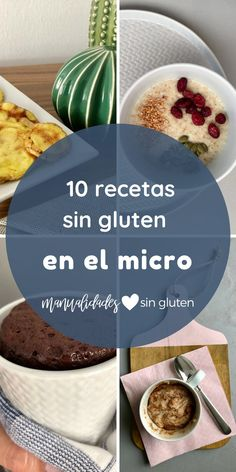 10 gluten-free recipes to make in the microwave - Pan sin Gluten Recetas Gluten Free Cookies, Gluten Free Desserts, Gluten Free Recipes, Keto Recipes, Healthy Recipes, Sem Lactose, Lactose Free, Dairy Free, Inflamatory Foods
