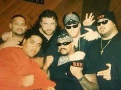 Rikishi, Savio Vega, Henry Godwinn, Yokozuna, Undertaker & The Godfather