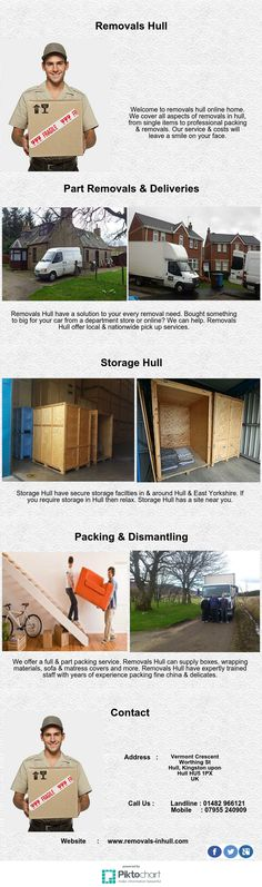 Removals Hull have a solution to your every removal need. Bought something to big for your car from a department store or online? We can help. Removals Hull offer local & nationwide pick up services.