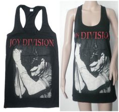 Joy Division  Women Tank Top Rock  Dress Size M Fit by 99rockshop, $17.99